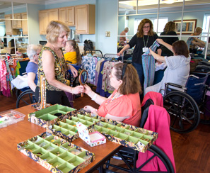 photo of nursing home boutique
