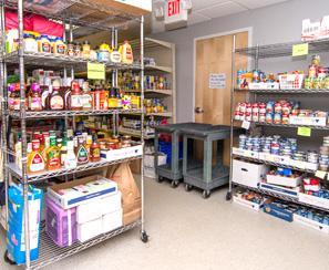 photo of needham food pantry